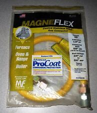 "Magneflex Coated Stainless Steel Gas Connector 36"" PSP85636 1/2""ID - New!"