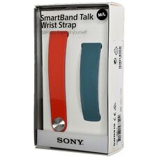 SONY SWR310 Band for SWR30 SmartBand Size M/L Blue Red Set Wrist Strap