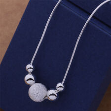 New charm nice Silver fashion cute women Beads classic Necklace AN540