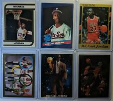 Michael Jordan Lot of 6! Rare! Rookie Promos, Inserts, Gold, USA, UNC, Bulls, RC