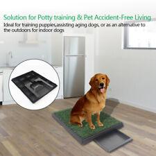 Indoor Puppy Dog Pet Potty Training Pee Pad Mat Tray Grass House Toilet tray New