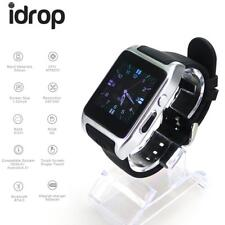 """idrop X86 Smart Watch 1.54"""" MTK6572 Dual Core Android 4.4 3G WiFi Silver Color"""
