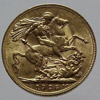 1926 SA  BRITISH KING GEORGE V SOUTH AFRICA FULL SOVEREIGN