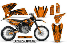 CREATORX GRAPHICS KIT FOR KTM 05-07 EXC/XC 05-06 SX TRIBAL BOLTS ONP