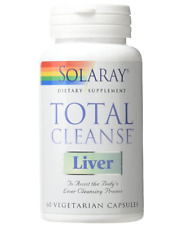 Solaray Total Cleanse Liver VCapsules, 60 Count