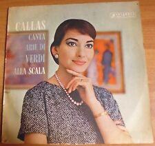 33 GIRI COLUMBIA - CALLAS CANTA ARIE DI VERDI ALLA SCALA - 1959 - CVMM30/10/17