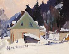 Gagnon Clarence Home To The Green Spades Canvas 16 x 20   #3290