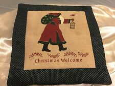 New listing Alice's Cottage Santa Christmas welcome Spiced Hot Pad Ac12322