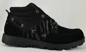 NEW Sean John Ponza Mid Boots Men's Black SM1386-001