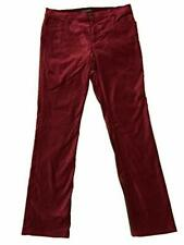 NWT Ralph Lauren Womens Sz 10 Slimming Fit Pants  Ruby Red  Straight Leg