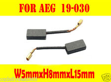 Carbon Brushes For AEG 19-030 Electric router OF450S OFE500S OFE650