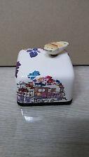 Flower Train Korea Orgel Music Box Paperweight Hand Craft Figure