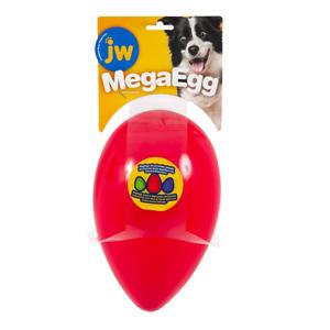 JW Durable Tuff Dog Wobble Intercative Play Toy Mega Egg - MegaEgg - Large