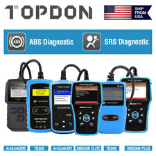 Automotive OBD2 OBDII Scanner Code Reader Car Engine Check Reset Diagnostic Tool