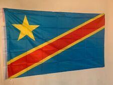 Drapeau Congo Kinshasa - Congolais - Congo Flag - 145 cm X 90 cm
