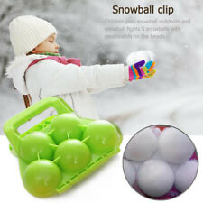 WINTER SNOWBALL MAKER CLIP SAND MOLD TOOL KIDS TOY FIGHT OUTDOOR SPORTS NEW