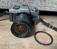 Vintage Minolta XG-M 35mm SLR Film Camera- Tokina 28-70mm 1:3.5-4.5 Lens