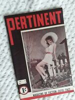1944 Pertinent Monthly Magazine ~Mary Martin Paramount Cover RARE Australian