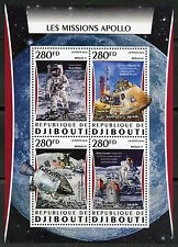 Djibouti 2016 The Apollo Missions Sheet Mint Nh