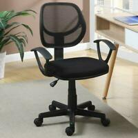Hight Back Drafting Chair Stool Mesh Swivel Armrest Computer Office Task Seat