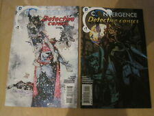 CONVERGENCE : DETECTIVE COMICS 1 & 2, complete 2 issue BATMAN series. THE NEW 52