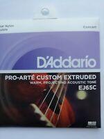D'ADDARIO PRO-ARTE CUSTOM EXTRUDED  UKULELE STRINGS  EJ65C