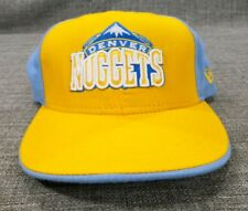 Denver Nuggets New Era 59Fifty Custom Fitted Cap - Sky Blue/Gold Size 7