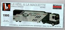 CATALOGUE LBS ELIGOR 1995 - CAMION RENAULT SEMI-REMORQUE