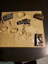 """Vintage Aurora """"THE RAT PATROL"""" Plastic Model Kit Incomplete?"""