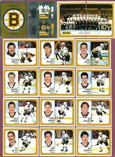 1988-89 PANINI STICKERS FOIL NHL HOCKEY CARD 201 TO 408 SEE LIST