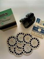 Sawyer's View-Master plus 8 color reels US states w/ box