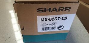 Genuine Sharp MX62GT CB  Cyan Toner Cartridge ,  Sharp MX-6240N, MX-7040N