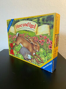 Hase und Igel | Ravensburger | Kritikerpreis 1979 | Kinderspiel | Brettspiel