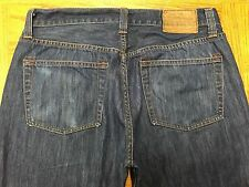 J BRAND WALKER RELAXED STRAIGHT BUTTON FLY JEANS ACTUAL 33 x 30 Tag 30 BEST A58