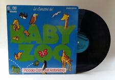 Le canzoni del BABY ZOO Raiuno Unicef Coro Dell'Antoniano VINILE VINYL LP 33