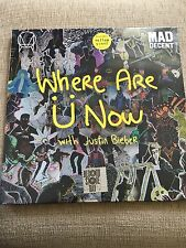 """DIPLO JUSTIN BIEBER WHERE ARE YOU 12"""" YELLOW VINYL RECORD STORE DAY 2016 2019"""