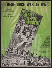 There Once Was An Owl The Great Victor Herbert Sheet Music