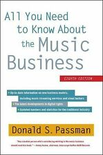All You Need to Know About the Music Business: Eighth Edition, Passman, Donald S