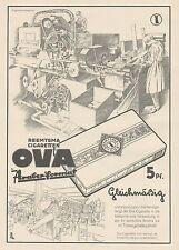 J1303 Reemtsma Cigaretten OVA - Pubblicità grande formato - 1929 Old advertising