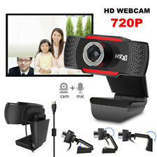 480P HD 12MP Auto USB 2.0 Webcam Camera w/ MIC For Skype PC Android TV 30ftbSTE