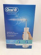 Oral-B AquaCare 4 Kabellose Munddusche mit Oxyjet-Technologie