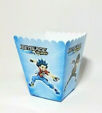Beyblade Party Box Popcorn Boxes Candy Decorations Set of 8 party boxes