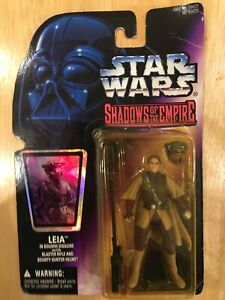"""Star Wars Princess Leia Boushh Shadows Of The Empire 3.75"""" 1996 Kenner Figure"""
