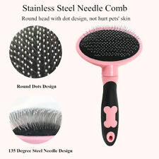 Self Cleaning Pet Dog Comb Hair Remover Pet Hair Shedding Handle Brush Tools