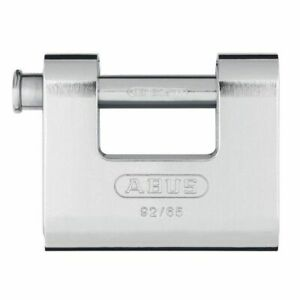 Abus ABU9265C 92/65 65mm Monoblock Shutter Padlock CLAM PACK