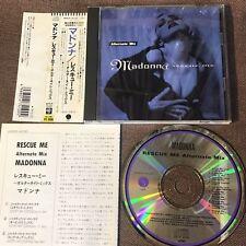 "MADONNA Rescue Me Alternate Mix JAPAN 10-track 5"" CD 10-track WPCP-4100 w/OBI+PS"