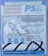 Psr1012 Easy Heat Electric Pipe Freeze Protection Roof De-icing Cable, 12', 120V