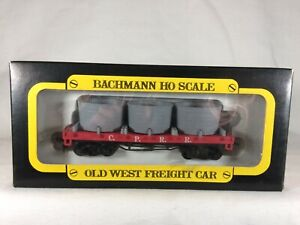 BACHMANN Old West Union Pacific Water Tank Car HO Central Pacific C.P.R.R. Box
