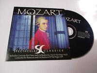 CD Série Spectaculars Classics - Mozart (pochette cartonnée)
