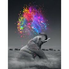 Elephant Full Drill DIY 5D Diamond Painting Art Home Decor Embroidery Kits Mural